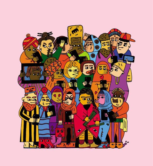 Illustration Saša Ostoja/Unit C.M.A. pour M Le magazine du Monde