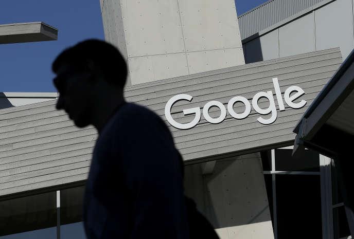 «Une taxe sur le chiffre d'affaires est « injuste » dans son principe car elle ne s'applique pas à un résultat, à un bénéfice« (Sur le campus de Google à Mountain View, en Californie, en novembre 2015).