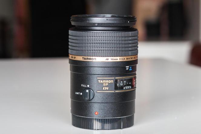L'objectif macro Tamron 90 mm est parfait pour se placer tout près de son sujet.