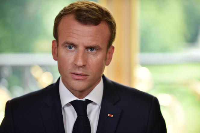 Pour les quatre associations actives dans l'aide aux migrants, les déclarations d'Emmanuel Macron« marquent une étape supplémentaire dans le cynisme et l'hypocrisie de la politique migratoire française ».