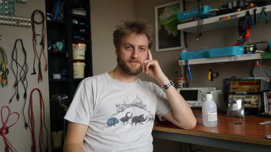 Pierre Vilhem, 35 ans aujourd'hui, infirmier à Ernestviller (Moselle).