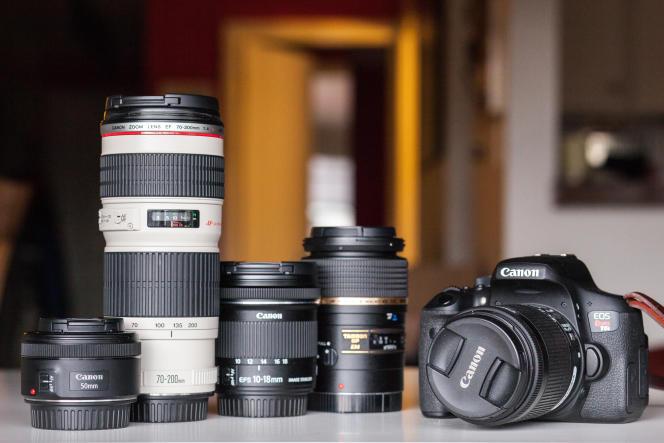 Quatre objectifs pour un photographe Canon débutant.