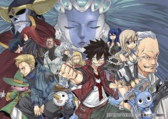 La galerie de personnages d'« Edens Zero».