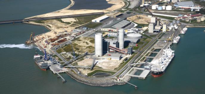 Le site Eqiom de La Rochelle (Charente-Maritime), filiale de CRH.