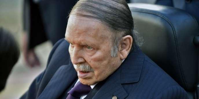 Le président algérien, Abdelaziz Bouteflika, à Alger, en novembre 2017.