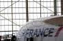 Un Airbus A380 en maintenance à l'aéroport Roissy-Charles de Gaulle, le 31 mai.