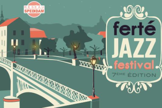 Affiche du Ferté Jazz Festival.