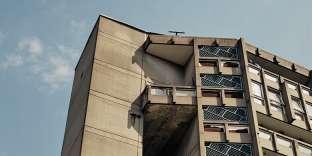 Construit entre 1969 et 1972, le Robin Hood Gardens, à Londres, est un modèle d'architecture brutaliste.