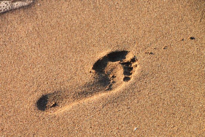 … perles de sable…