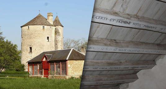 La tour dans laquelle Montaigne s'est retiré pour méditer et écrire ses «Essais».