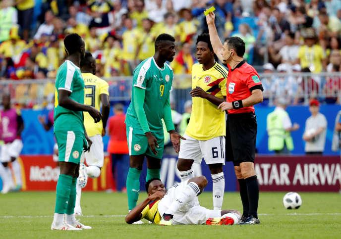 Les cartons jaunes auront été fatals au Sénégal lors du premier tour de la Coupe du monde.