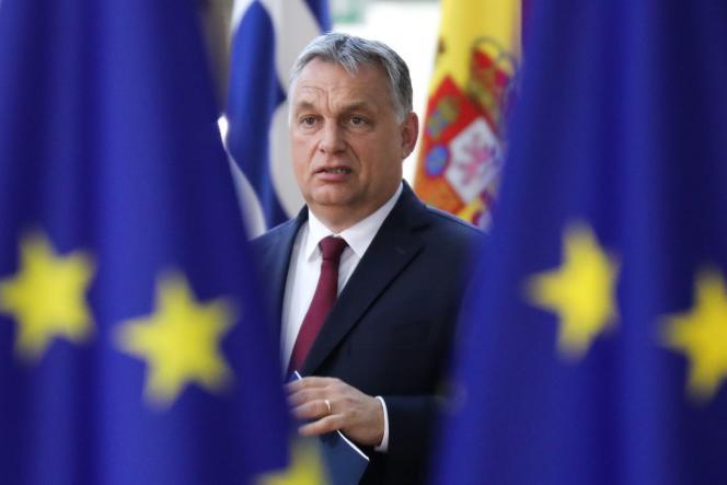 Le premier ministre hongrois Viktor Orban, à Bruxelles, le 28 juin.