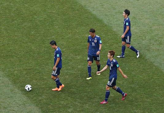 Les Japonais ont choisi le refus de jeu lors des dernières minutes de leur rencontre face à la Pologne.