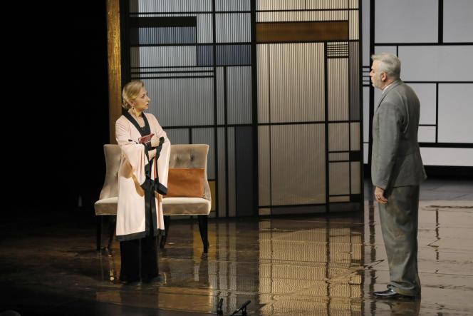 Natalie Dessay et Bernard Alane, dans« La Légende d'une vie».
