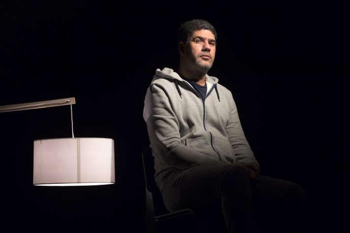 Rachid Benzine au théâtre de Liège, en Belgique, en janvier 2017.