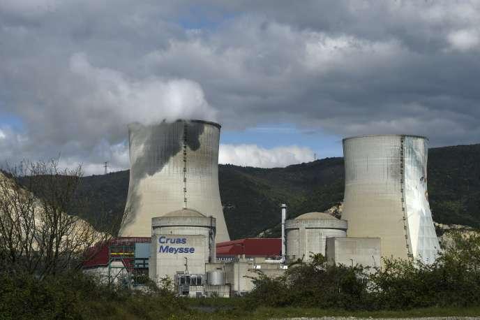 La centrale de Cruas-Meysse, en 2016.