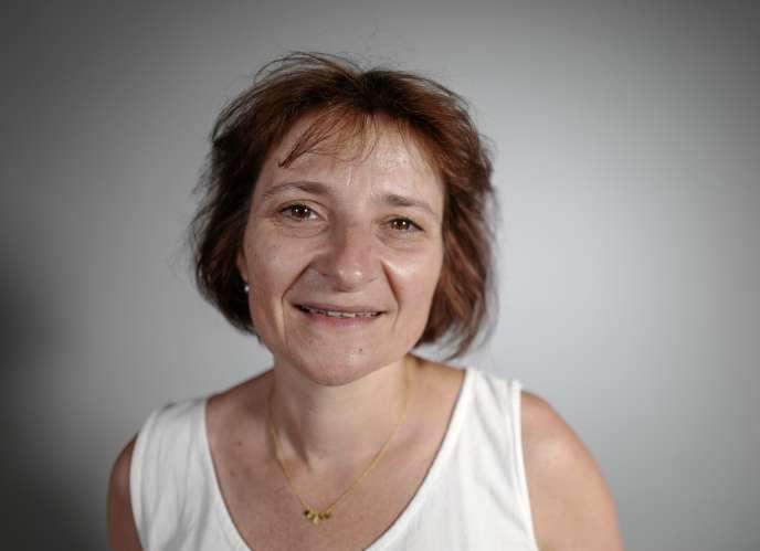 Fabienne Lassalle, directrice adjointe de l'ONG SOS-Méditerranée.