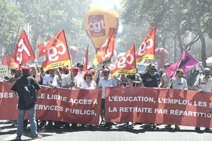 A Paris, 2 900 personnes seulement se sont rassemblées pour manifester jeudi 28 juin, selon la préfecture de police.