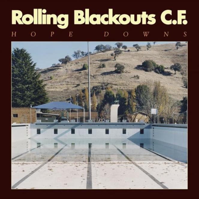 Pochette de l'album « Hope Down »,de Rolling Blackouts Coastal Fever.