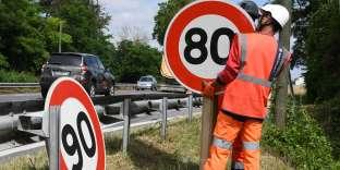 L'abaissement de la limite de vitessea contraint les services de navigation GPS à réactualiser leurs bases de données en peu de temps.