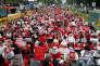 Manifestation de femmes pour protester contre l'impunité dont bénéficieraient les coupables de «molka», le 9juin à Séoul.