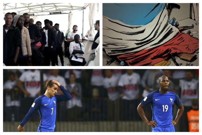 Dans l'actualité de la semaine : l'accord européen sur les migrants, la Coupe du monde de football et un groupe d'ultradroite mis en examen.