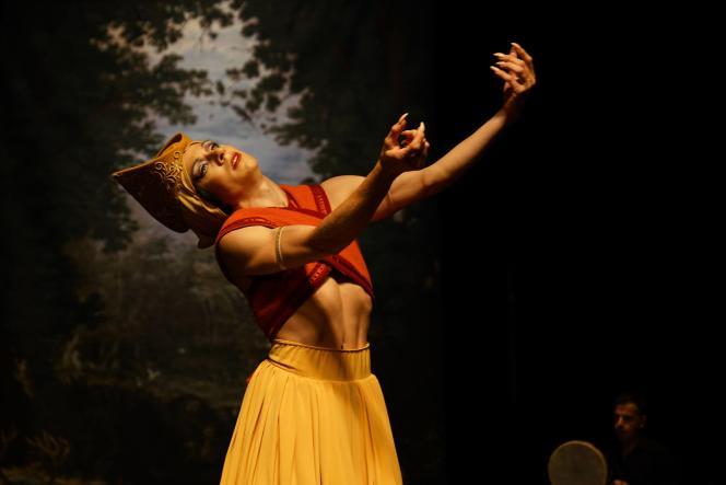 Le chorégraphe et danseur François Chaignaud, dans« Romances inciertos, un autre Orlando».