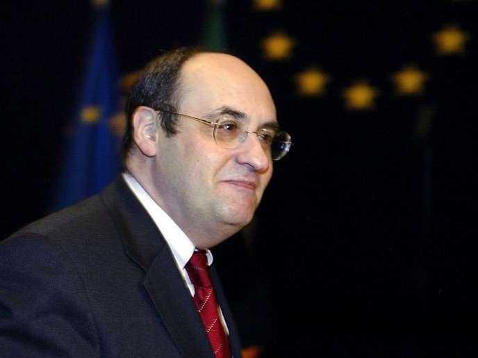 Antonio Vitorino, nouveau directeur de l'Organisation internationale des migrations, en 2004.