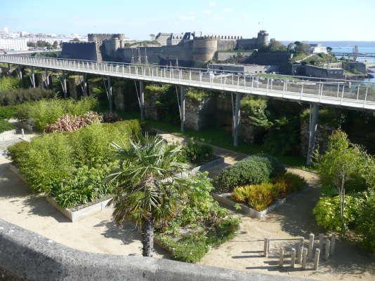 Le jardin des Explorateurs à Brest.