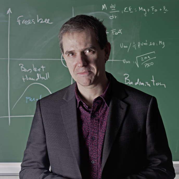 Christophe Clanet, physicien à l'École Polytechnique. Palaiseau,17 janvier 2017