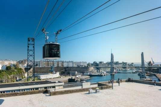Le premier téléphérique urbain de France.
