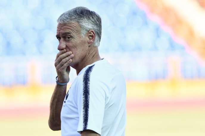 Didier Deschamps, le 29 juin, à Kazan.