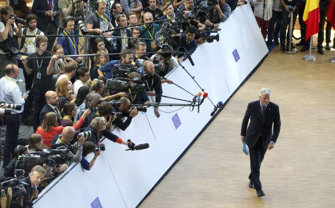 Le négociateur européen du Brexit, Michel Barnier, le 29 juin à Bruxelles.