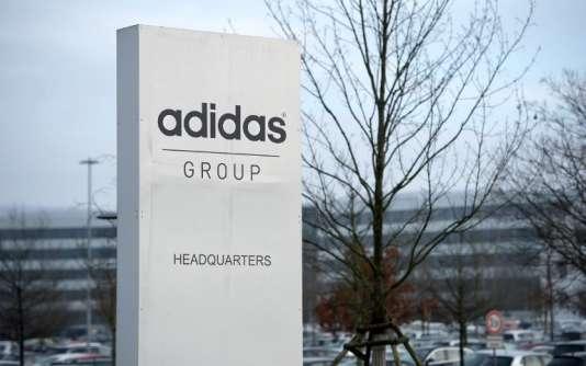 Le siège de l'équipementier allemand Adidas, àHerzogenaurach, en Allemagne, le 25janvier 2016.
