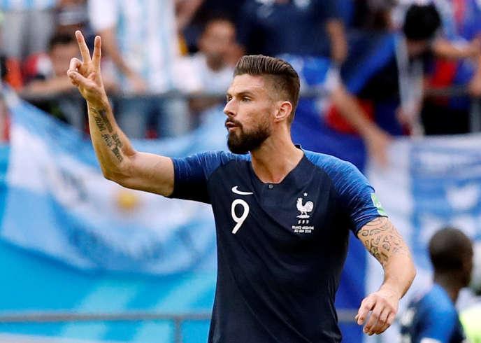 Attaquant annonçant à l'avance le nombre de buts qu'il entend marquer à son coéquipier en club.