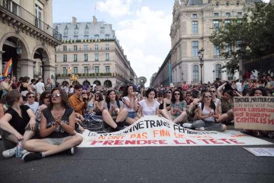 La Marche des fiertés, samedi 30 juin, à Paris.