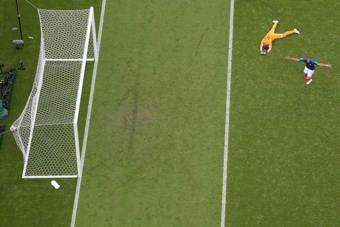Et vous, vous réagirez comment, au moment où vous rejoindrez Pelé dans l'histoire ?