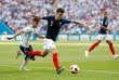 Benjamin Pavard face à l'Argentine en huitièmes de finale de la Coupe du monde, jour du but qui l'a révélé à la France.