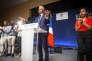 Laurent Wauquiez, le président du parti Les Républicains, lors du conseil national du parti à Menton, le 30 juin 2018.
