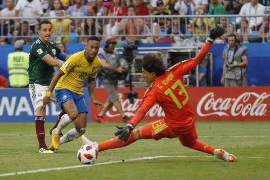 Neymar a inscrit un but et offert une passe décisive à Firmino lors de la victoire des siens face au Mexique.