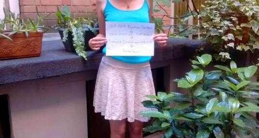 «J'ai quitté l'école et j'ai dû en assumer les conséquences», raconte Claudia.