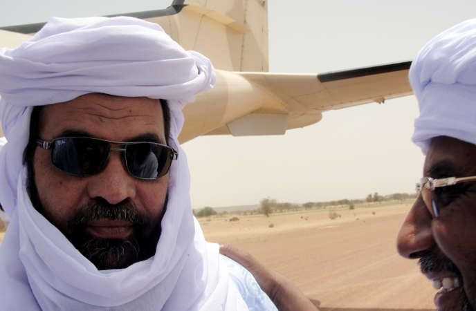 Iyad Ag-Ghali, à l'aéroport de Kidal, le 7 août 2012.