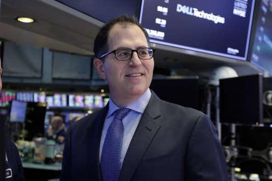 Michael Dell, fondateur et PDG de Dell, à la Bourse de New York, lundi 2 juillet.