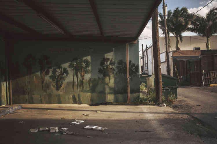 Une peinture murale, à McAllen.