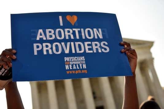 L'avortement sera au coeur du choix pour la Cour surprême.