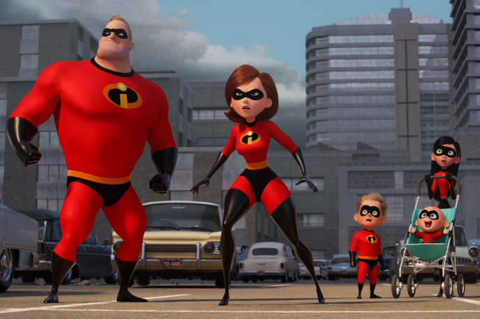 « Les Indestructibles 2 » (« Incredibles 2 »), film d'animation américain de Brad Bird.