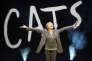 La danseuse et chorégraphe Gillian Lynne lors de la présentation à la presse du spectacle« Cats» à Paris en avril 2015.
