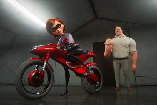 Helen alias Elastigirl dans« Les Indestructibles 2» («Incredibles 2»), de Brad Bird.
