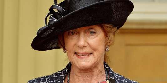 Gillian Lynne, lors de la réception de son titre de Dame Commandeur de l'ordre de l'Empire britannique, le 1er mai 2014.