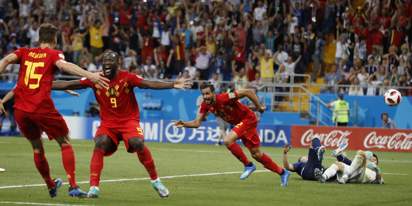 Heureuse stupeur belge, tremblements japonais après le but victorieux de Chadli.